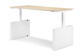 ZIT-STA Hi Tee Voortman bureautafel  Wang poot 160x80 Elektrisch verstelbaar HTZ80-160E-W