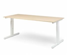Hi Tee Voortman bureautafel T poot 160x80 instelbare hoogte HT80-T160I-T