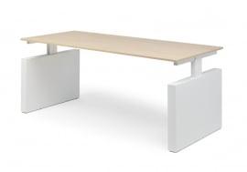 Hi Tee Voortman bureautafel Wangpoot 180x90 instelbare hoogte HT90-T180I-W