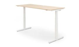 ZIT-STA Hi Tee Voortman bureautafel T poot 160x80 Elektrisch verstelbaar HTZ80-160E-T