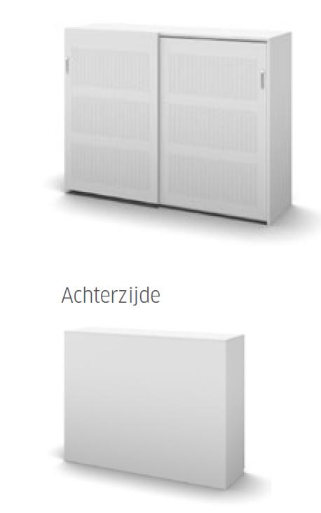 Akoestische deuren Stalen achterwand  122x160x49 cm SV160X1-122PS sound and vision