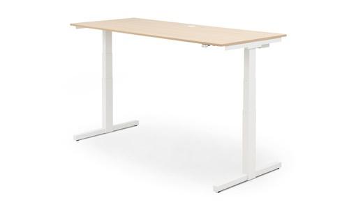 ZIT-STA Hi Tee Voortman bureautafel T poot 180x80 Elektrisch verstelbaar HTZ80-160E-T
