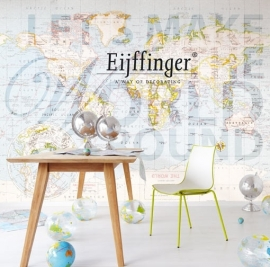 Eijffinger Wallpower Wonders The World go Round 321505