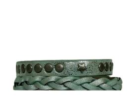 Armbandset Stoer Mintgroen