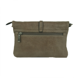 Schoudertasje / Clutch Mandy Taupe