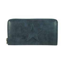 Portemonee Star Donkerblauw