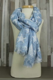 Shawl Star Blue | Zaza'z