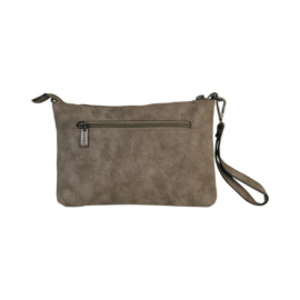 Schoudertasje / Clutch Jane Taupe