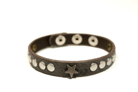 Armband Boston Antraciet