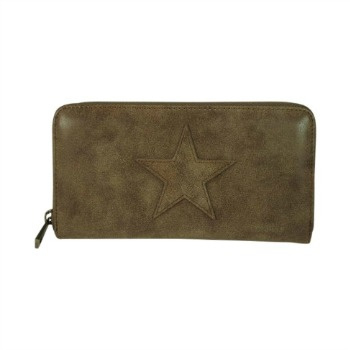 Portemonee Star Taupe