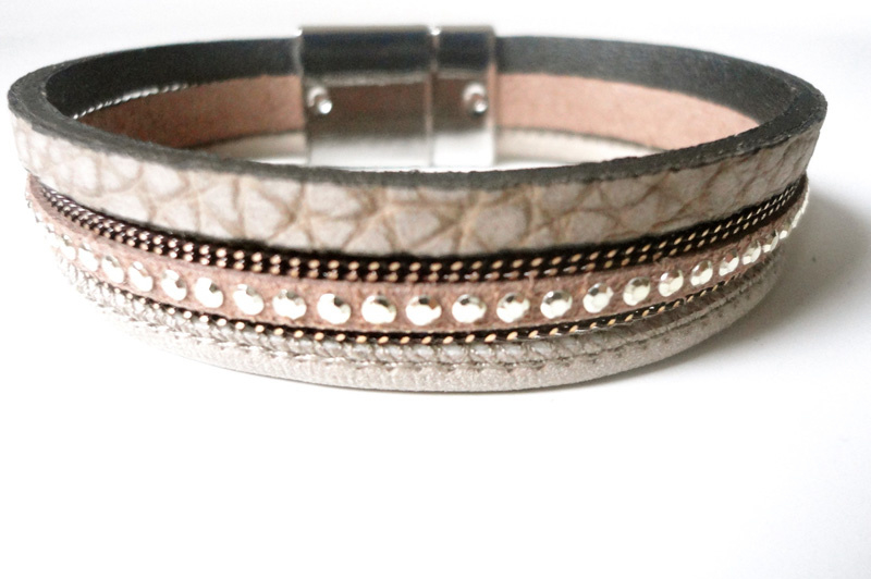 Armband Tennesee Taupe