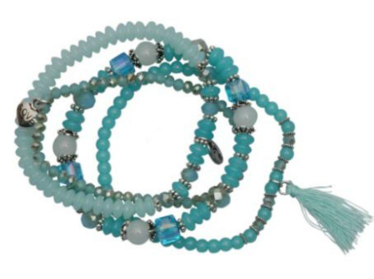 Armbandset Malaga Blauw