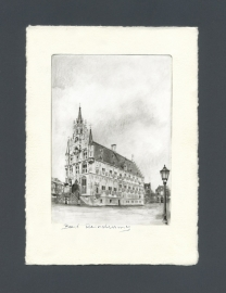 1105 Gouda, Stadhuis