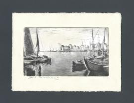 1247 Volendam, de haven