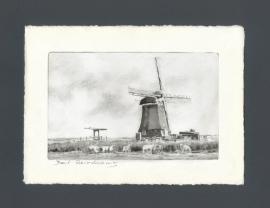 1046 Krommenie, molen de Woudaap