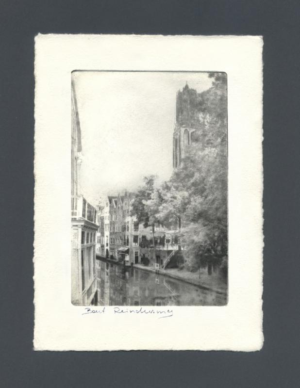 Utrecht, Oude gracht Domtoren