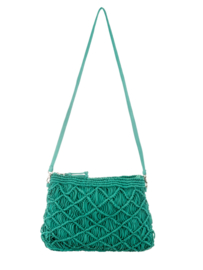 Cross body bag turquoise *Alex Max*