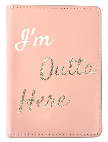 Paspoort hoesje roze