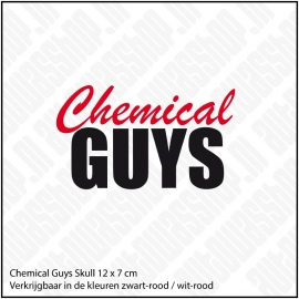 CHEMICAL GUYS STICKER