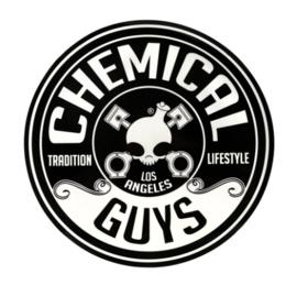 BIG FAT LARGE CHEMICAL GUYS BUCKET STICKER