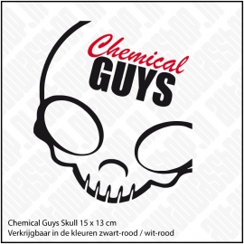 CHEMICAL GUYS SKULL STICKER
