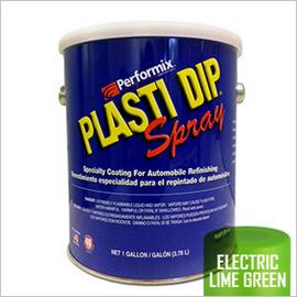PLASTI DIP ELECTRIC LIME GREEN GALLON