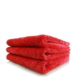 CHEMICAL GUYS HAPPY ENDING EDGELESS MICROFIBER TOWEL, ROOD, 40X40CM