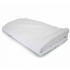 ELEGANT EDGELESS MICROFIBER TOWEL WHITE (130 X 76 CM)