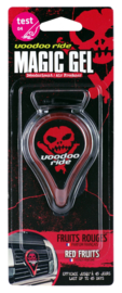 Voodoo Ride Magic Gel Luchtverfrisser Red Fruits