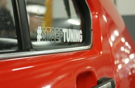 #STOEPTUNING STICKER