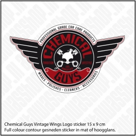 CHEMICAL GUYS VINTAGE WING STICKER
