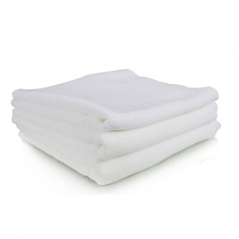"WHITE MONSTER EDGELESS MICROFIBER TOWELS 16""x16"" (40 X 40 CM)"