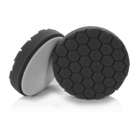 "Hex Logic 4"" Inch Black Finishing Pad"