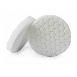 "Hex Logic 4"" Inch White Polishing Pad"