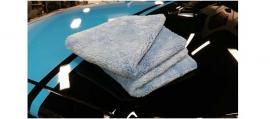 CHEMICAL GUYS HAPPY ENDING EDGELESS MICROFIBER TOWEL, BLUE, 40X40CM