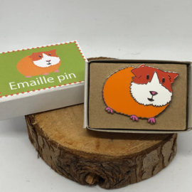 Emaille Pin Cavia