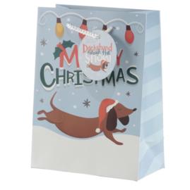 Cadeautasje | Kerstteckels Medium