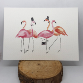 Flamingo Kaart | Flamingo Party