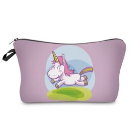 Toilettasje Happy Unicorn