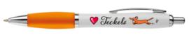 Pen | Love Teckels | Oranje
