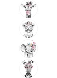 Sluitstickers | Diertjes (8)