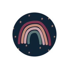 Sluitstickers | Regenboog en Sterren (5)