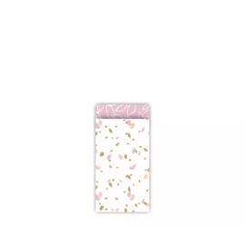 Cadeauzakje | Sow & Grow Pink | 7x13 cm