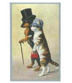 Teckelkaart | Teckel en Kat