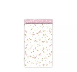 Cadeauzakje | Sow & Grow Pink | 12x19 cm