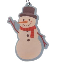 Voor in de auto | Sneeuwpop