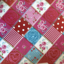 Inpakpapier | Quilt patroon | 2 meter x 30 cm