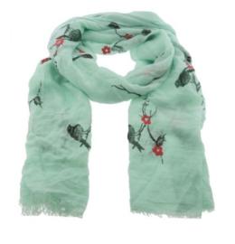 Sjaal met Vogeltjes
