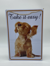 Tekstbord | Take it Easy