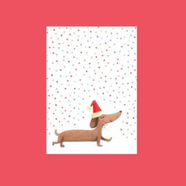 Kerstkaart | Kerstteckel